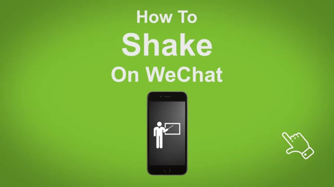 Wechat Messenger Shake Option